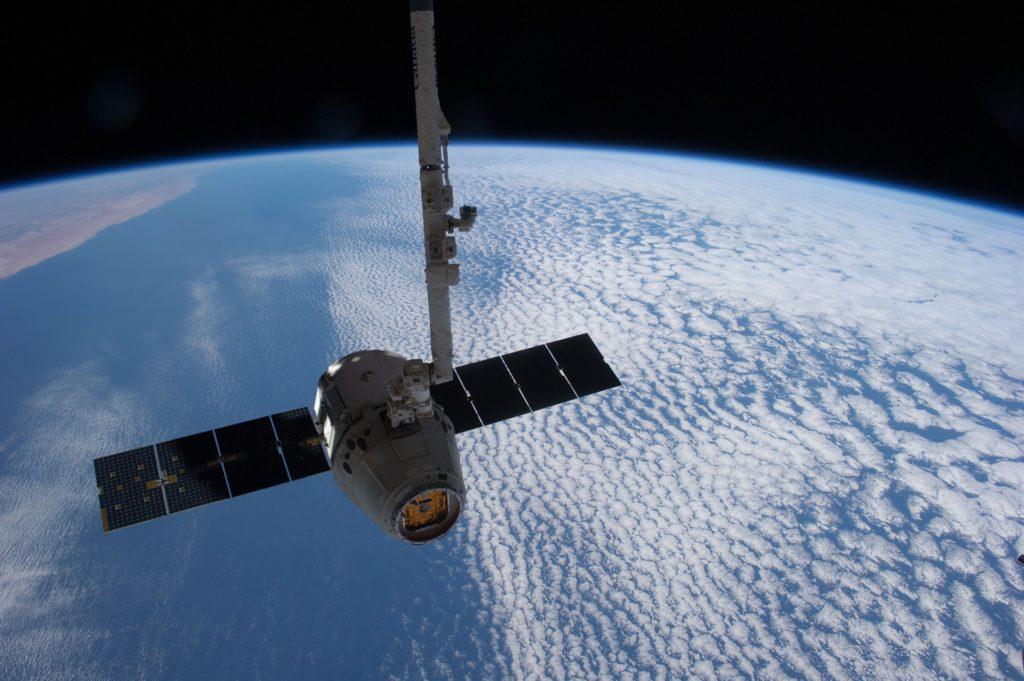 Nasa Satellite over earth