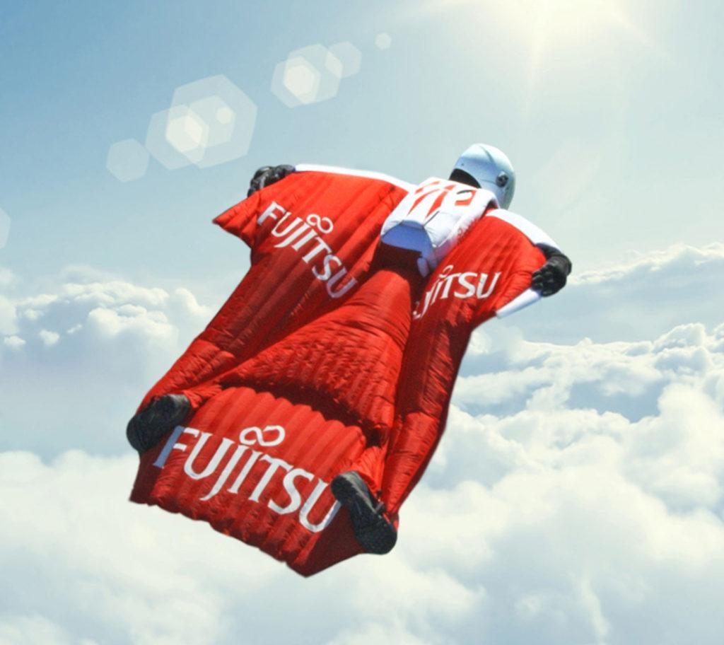 Fraser Corsan wingsuit jump