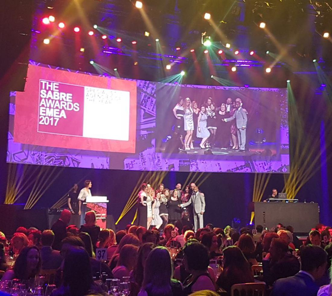 SABRE Awards EMEA 2017 winners