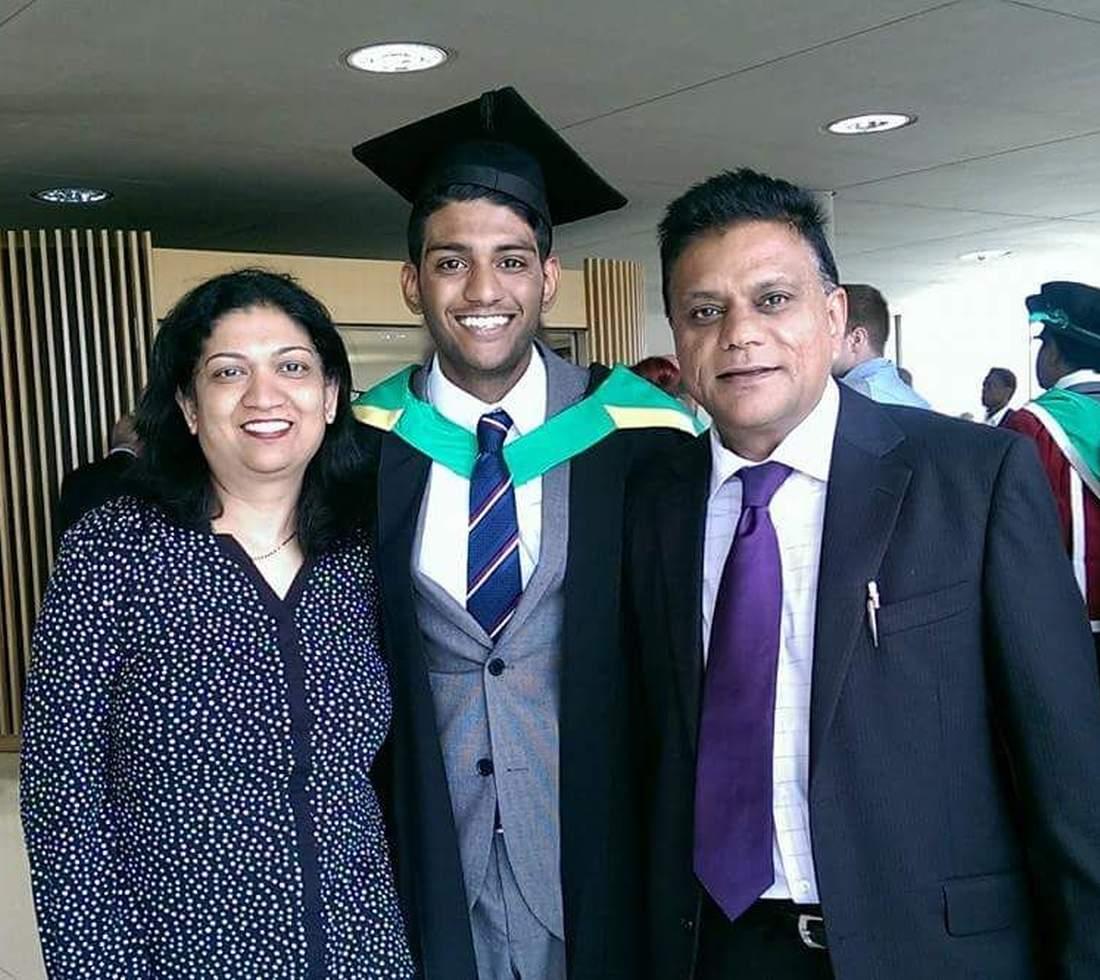 Shanil Nayee graduation